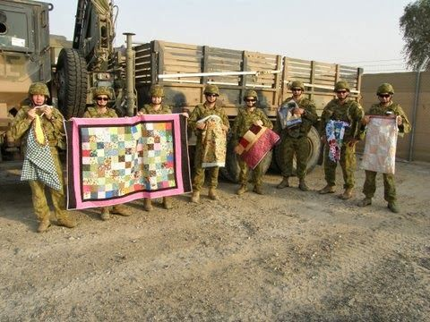 Aussie Hero Quilts (and laundry bags): Our Heroes Part One