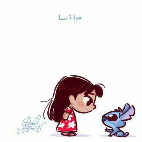 Lilo and Stitch by David Gilson