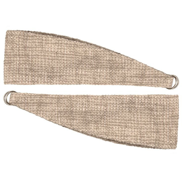 Carina Ecru Woven Curtain Tie Backs, Pack of 2 | Departments | DIY at B&Q