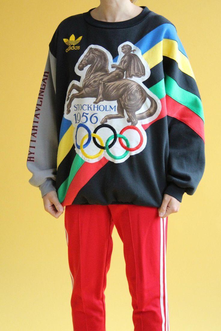 Vintage Trainingsjacke Adidas Nike Sweater Anzug T Shirt
