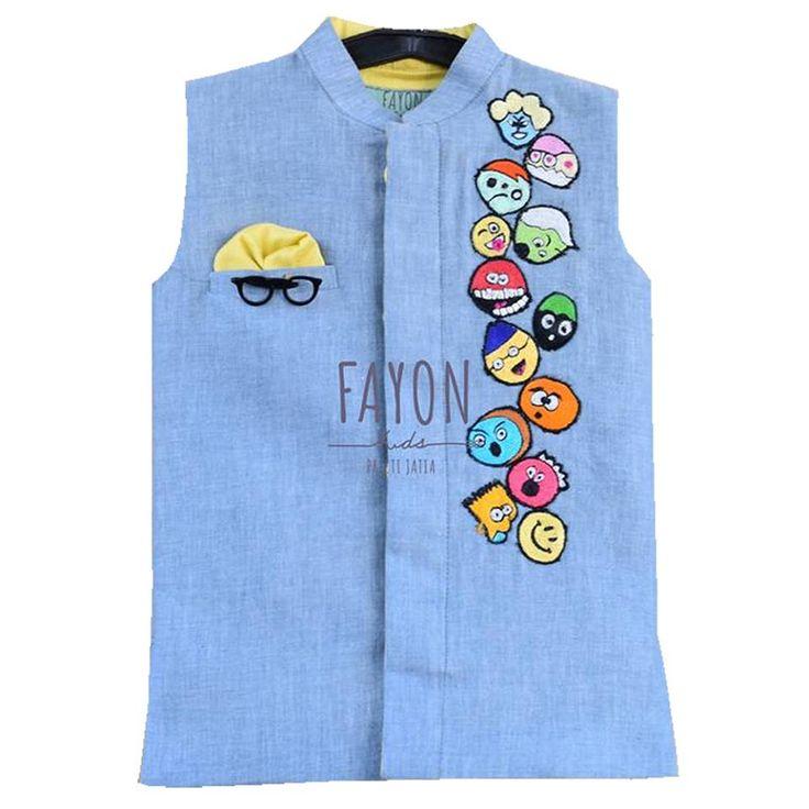 Hit wardrobe refresh with this trendy Nehru jacket. #nehrujacketforkids #intrend #limitedstock #designerwear #Ludhiana #Curiousvillage #Delhi