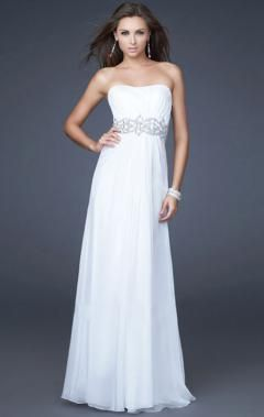 you will look perfect,if you wear this white long formal dresses