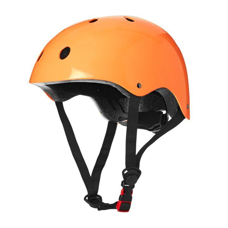 Kiddimoto Helmets - Kiddimoto Kids Helmet - Neon Orange