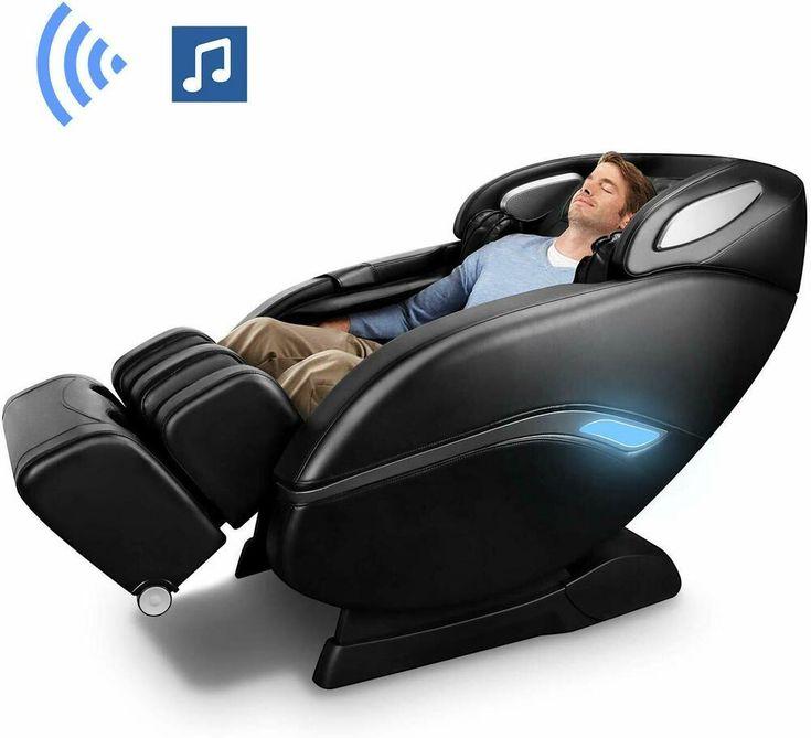 3d electric full body shiatsu massage chair recliner heat