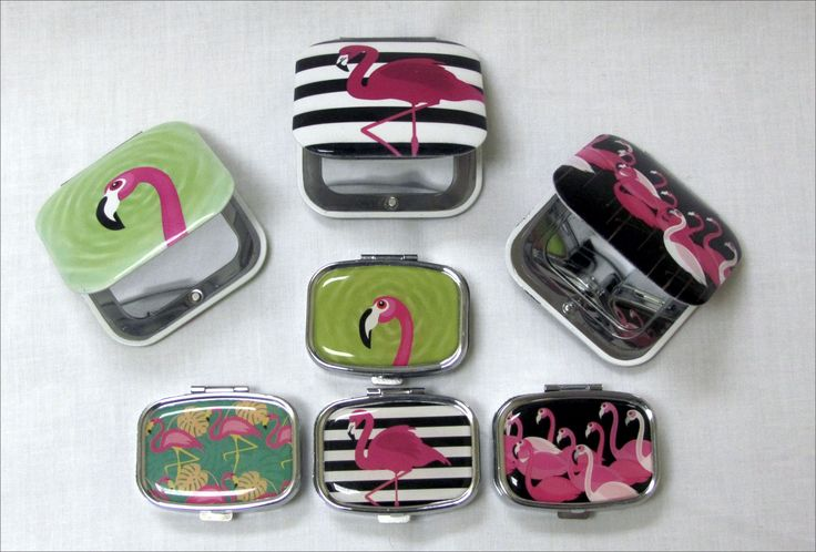 Big Blue: Various Pill Boxes and Cosmetic mirrors from R50.00