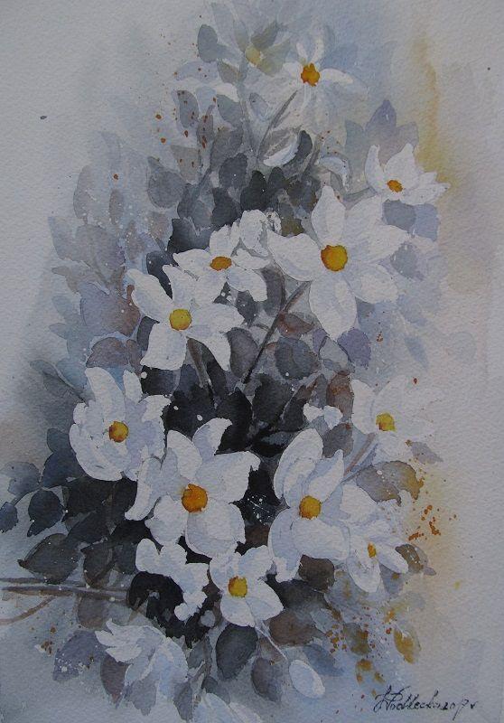 Kwiaty. W. Podlecka