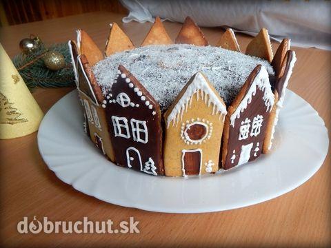 Fotorecept: Torta Zimná ulica