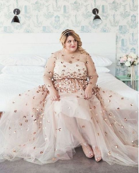 The 673 best best wedding dresses images on pinterest short christian siriano one of americas most inclusive designers creates stunning dresses for plus size celebrities junglespirit