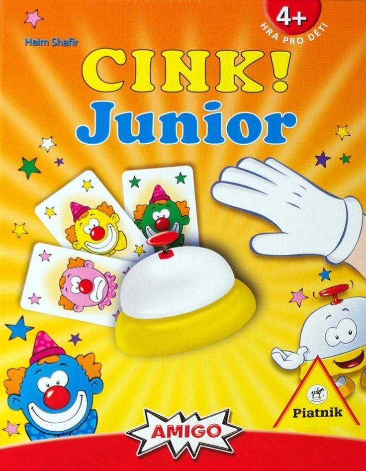 Cink! Junior je výborná postřehová hra se zvonečkem, kterou si rychle oblíbí malí hráči, pro které je určena, i jejich rodiče.
