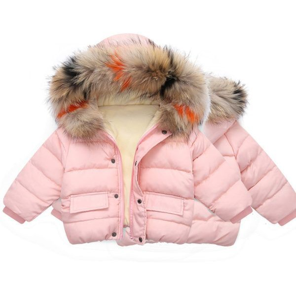 Baby Infant Little Girls Cozy Bunny Winter Jacket Coat Outerwear