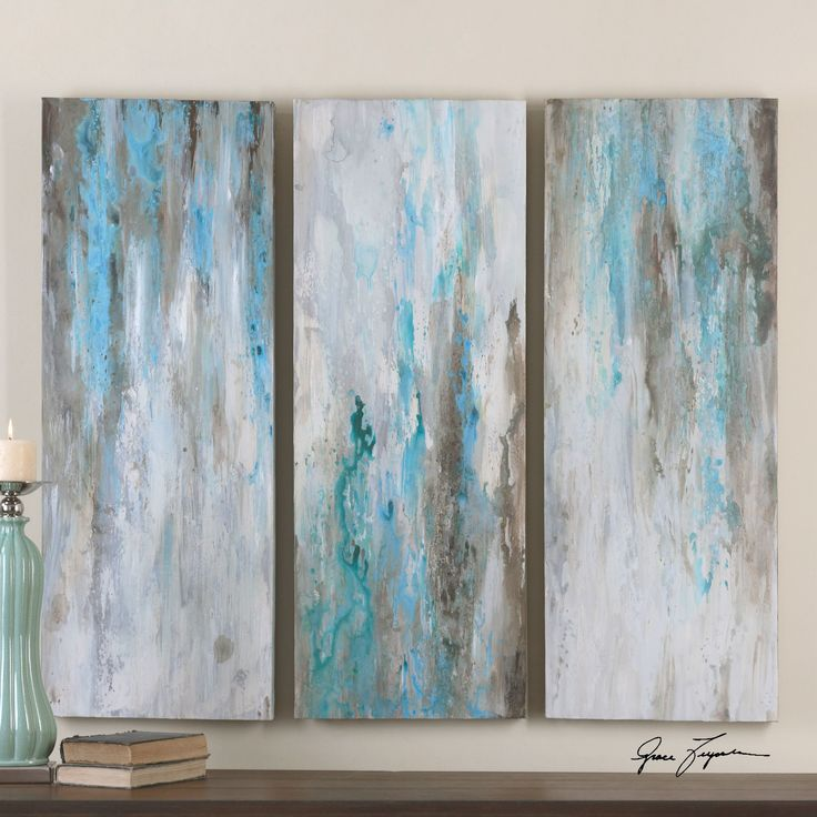 """You'll love the """"Smokey"""" by Grace Feyock 3 Piece Original Painting on Canvas Set at Wayfair.ca - Great Deals on all Décor products with Free Shipping on most stuff, even the big stuff."""