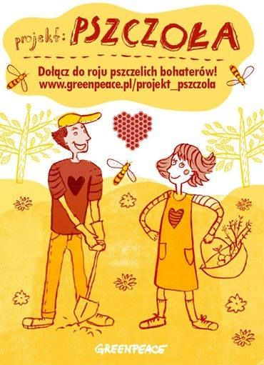 #mintume #greenpeace #pszczola