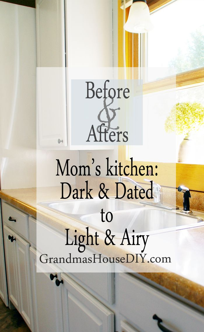 painting kitchen cabinets taking my mom 39 s dark kitchen into light