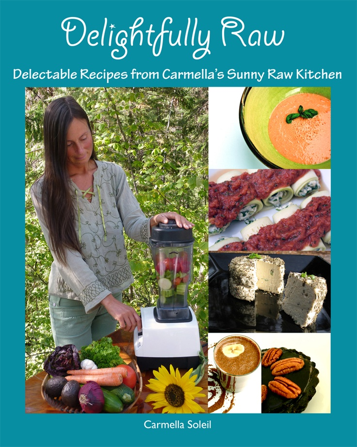 60 best raw food books images on pinterest raw recipes healthy the sunny raw kitchen introducing my new recipe book delightfully raw forumfinder Choice Image