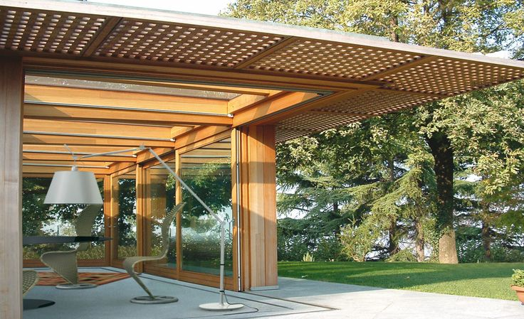 Open your Space #veranda #windows #garden #house #architecture #design