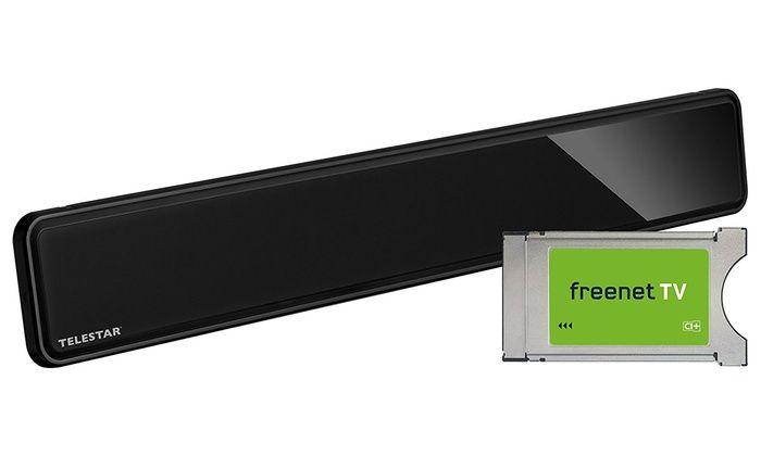 Groupon Goods Global GmbH: Telestar DVB-T Set freenetTV Ci+ Modul inkl. Antenna 12 LTE Indoor-Antenne