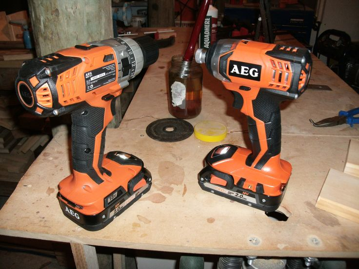Shiney new Impact driver and drill  http://www.wackywoodworks.co.nz/tools/aeg_drill.php