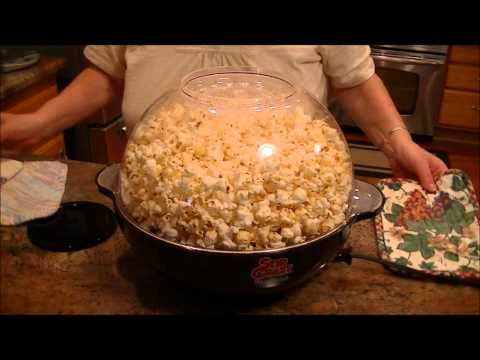 ▶ Product Review-West Bend Stir Crazy Popcorn Popper - YouTube