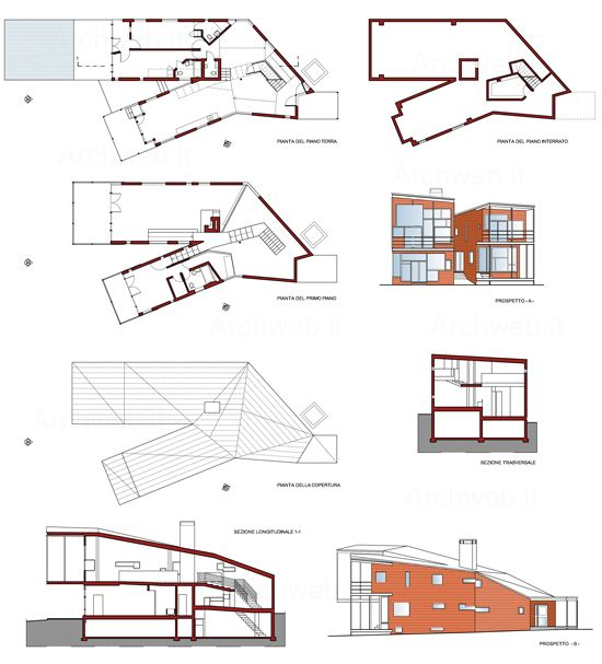 118 best archi steven holl images on pinterest steven for Residential architectural drawings