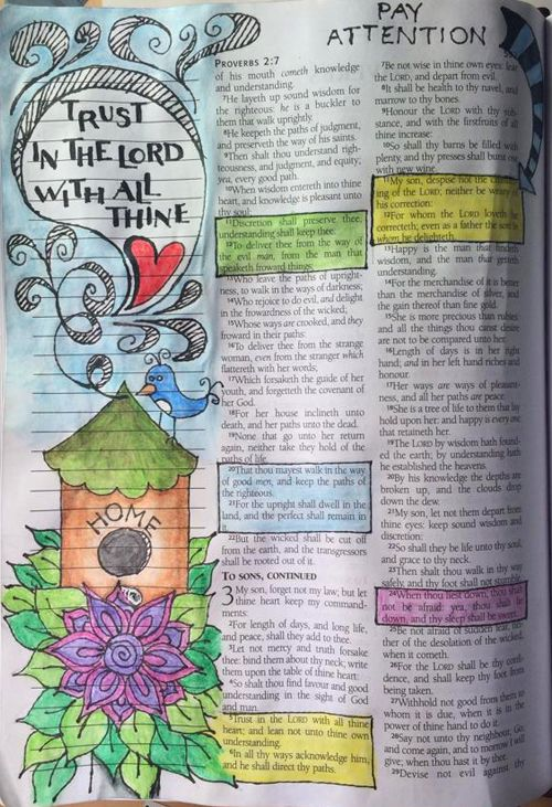 Bible Journaling Friday and a Free Printable - Time-Warp Wife | Time-Warp Wife