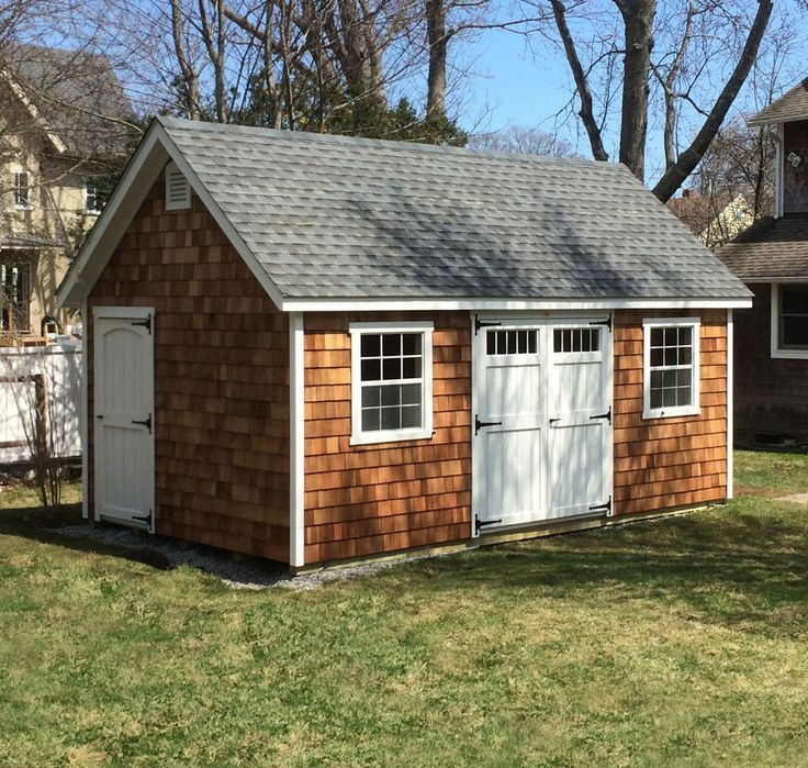 1000 images about sheds by kloter farms on pinterest for Cedar shingle shed