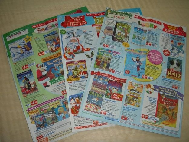 Scholastic Book Club!!! Damn, I loved these!!  Especially when we had the huge book sale once a year!!