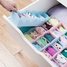Fashion Underwear Storage Box Cabinets Organize Jewelry Storage Household Debris Finishing Classification Organizer Boxes(China)