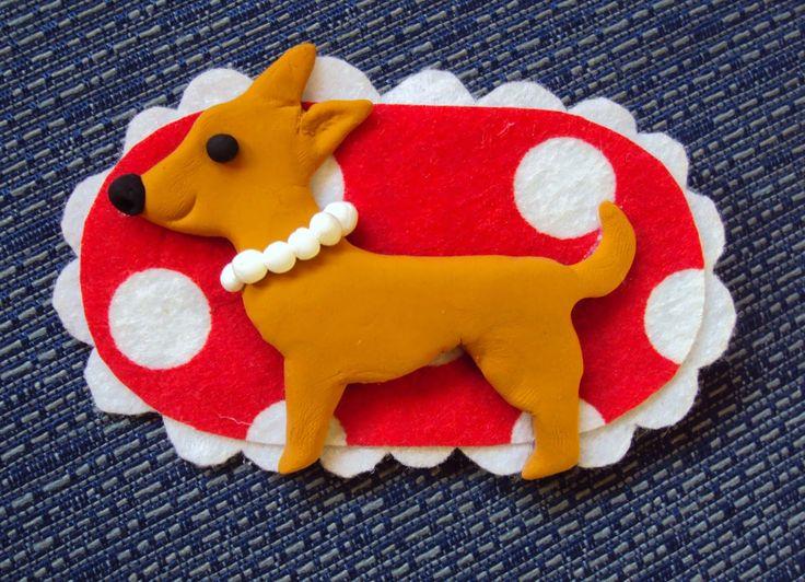 si vous voulez podeis: Broche de Chihuahua