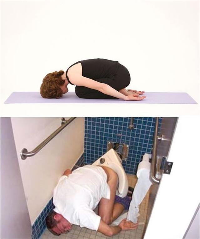 Drunk Fails Vs Yoga Poses!