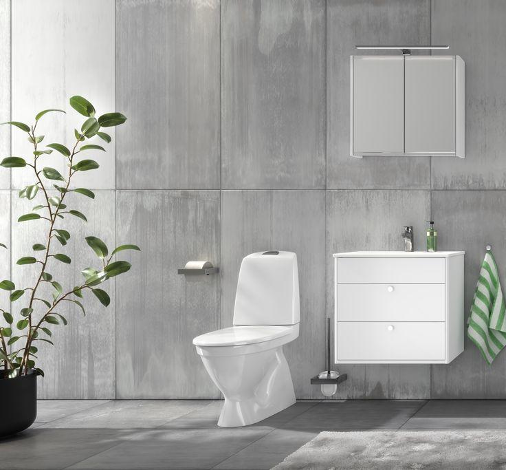 Toalettstol Nautic 1500 med Hygienic Flush.