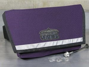 "Image of ""2Hip4U"" Pro Messenger Hip Pouch in Purple"