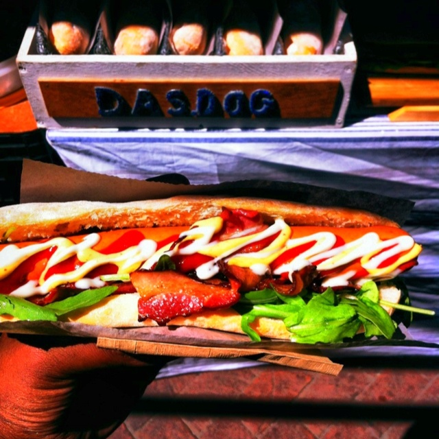 DasDog ~ Best hotdogs at THE OLD BISCUIT MILL Neighborgoods market Cape Town!!!