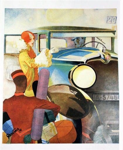 Brennabor (1928): Advertising Art by Bernd Reuters