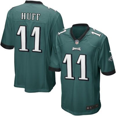 Nike Youth Philadelphia Eagles Josh Huff Team Color Game Jersey Youth XL