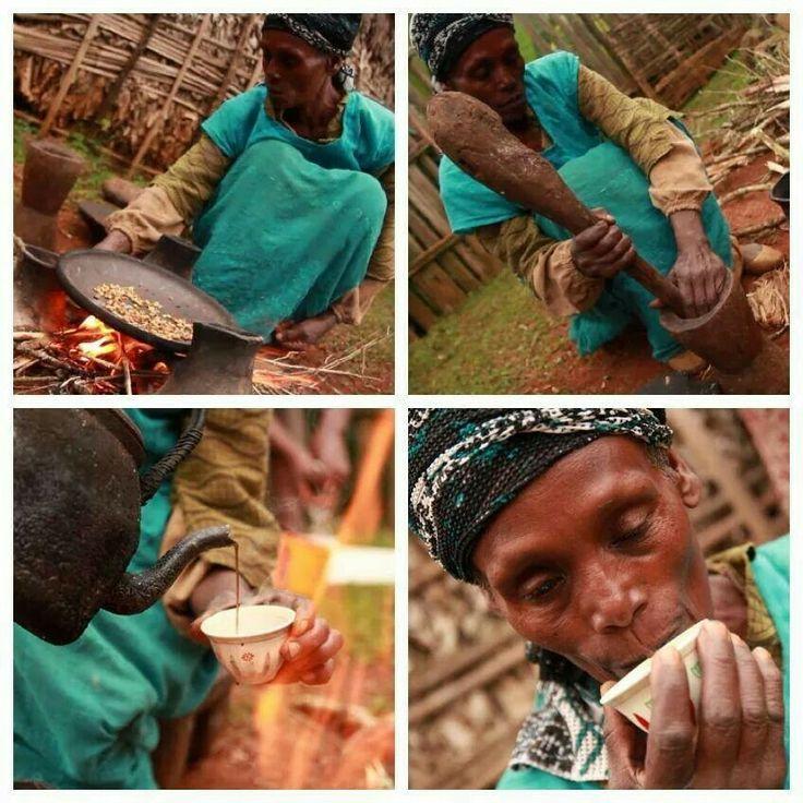 Cerimônia etíope de café