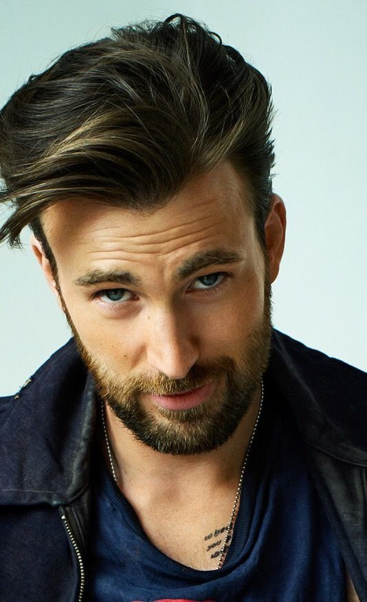 Chris Evans | Too lovely for words <3<3<3 -B.R.