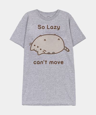 So Lazy Pusheen unisex T-shirt - Hey Chickadee $24