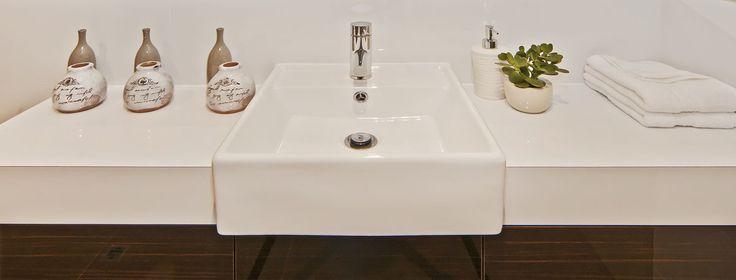 Sanctuary Bathroom Sink - WOW! Homes www.wowhomes.com.au/