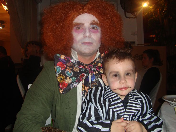 mad hatter costume and jack hand made with love