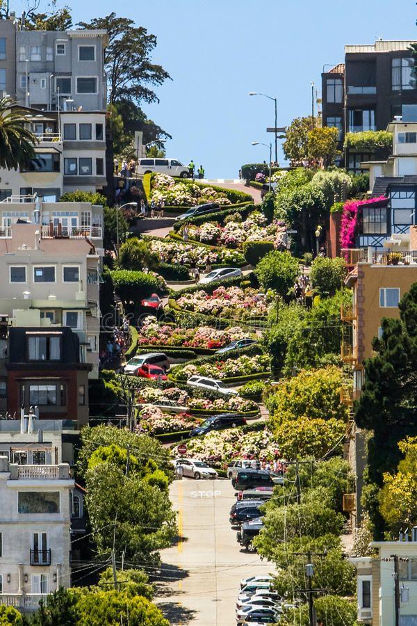 Lombard Street San Francisco California 62017 77