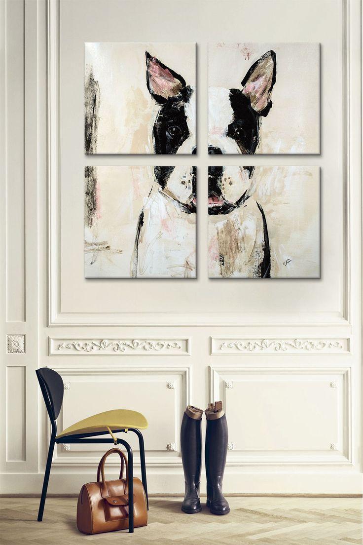 awesome Cuadro / pintura / perro / dog picture / decoración / decor…