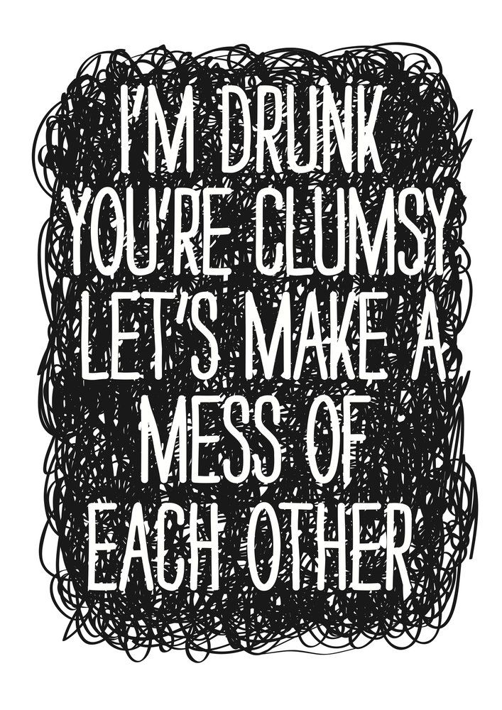 Drunk by Nicole Thompson | East End Prints