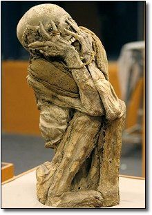 The 7 Most Horrifying Museums on Earth ((photographed:: mummy featured in El Museo De Las Momias [The Museum of the Mummies] Guanajuato, Mexico))
