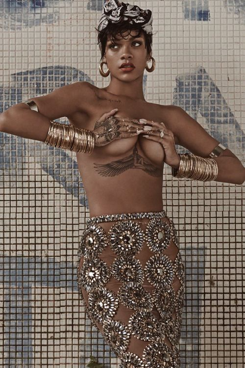 Rihanna Vogue Brazil Magazine Photoshoot (May 2014)