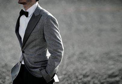 I really want the men in my wedding party to wear bow ties! So cute.
