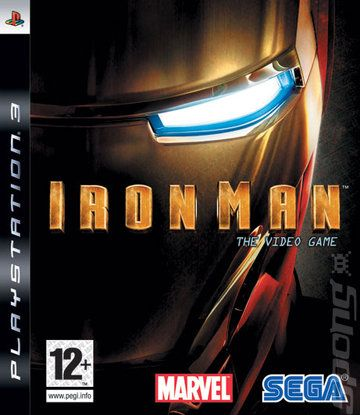 Covers & Box Art: Iron Man: The Video Game - PS3 (1 of 2)