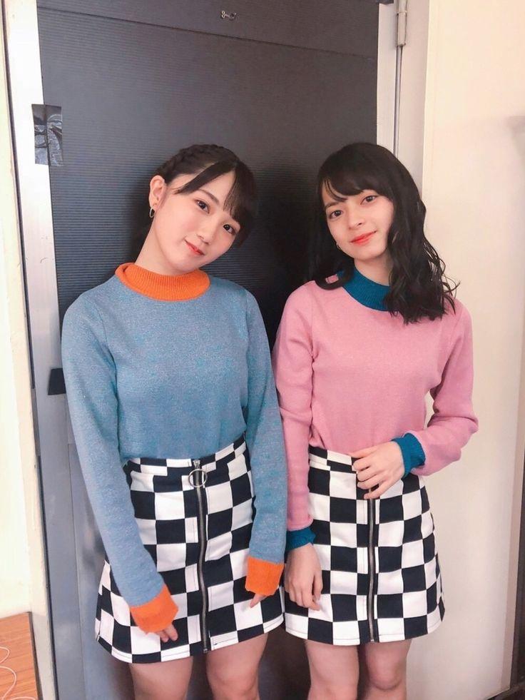 Musubu Funaki & Moe Kamikokuryo (ANGERME)