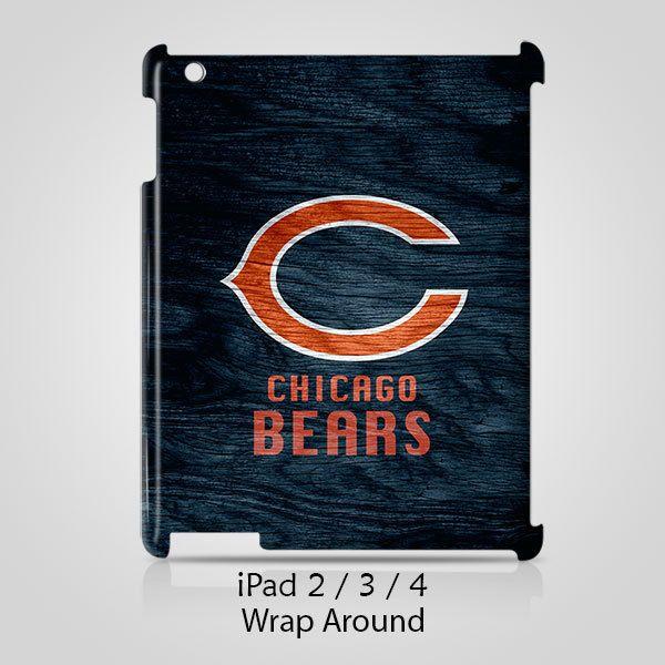 Chicago Bears Custom iPad 2 3 4 Case Cover