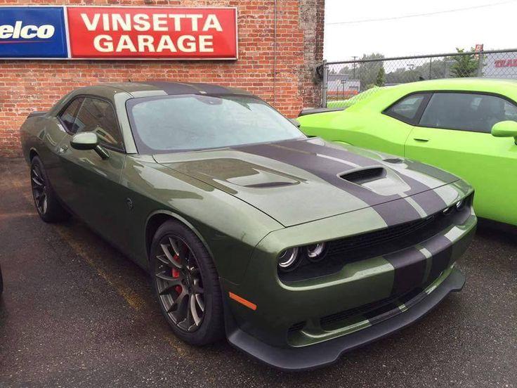 Dodge Charger Srt Hellcat >> Dodge Challenger Hellcat in Green | MOPAR | Pinterest | Dodge challenger hellcat, Challenger ...