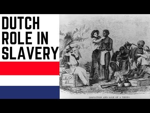 The role of the Netherlands in the transatlantic slave trade - YouTube